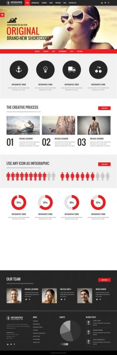 Infographer - Multi-Purpose Infographic Theme (Custom)