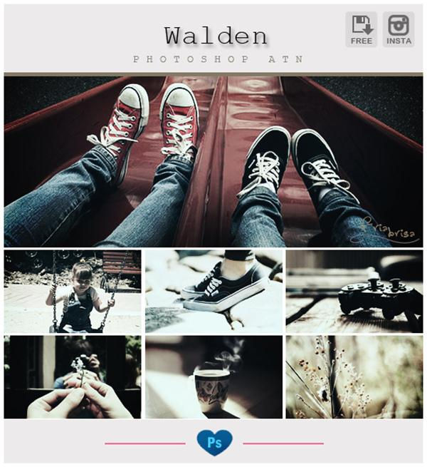 Instagram Walden Photoshop Action (Custom)
