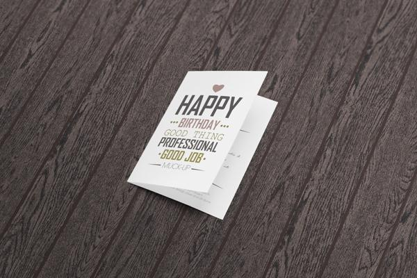 Invitation & Greeting Card Mockup (Custom)