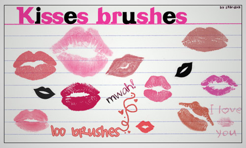 Kisses brushes