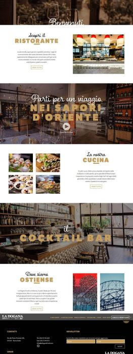 La Dogana Food Restaurant (Custom)