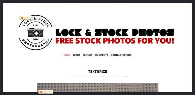 Lock and stock photos (Custom)