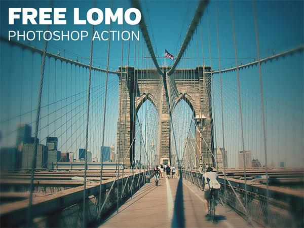 Lomo Photoshop Action (Custom)