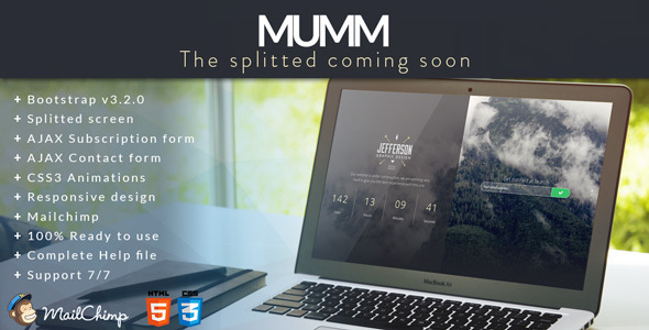 MUMM  The Splitted Coming Soon