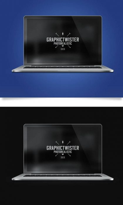 MacBook Pro Photorealistic Mockup (Custom)