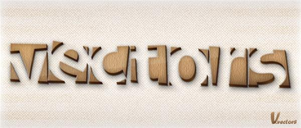 Make a Wooden Text Effect in Illustrator (Custom)