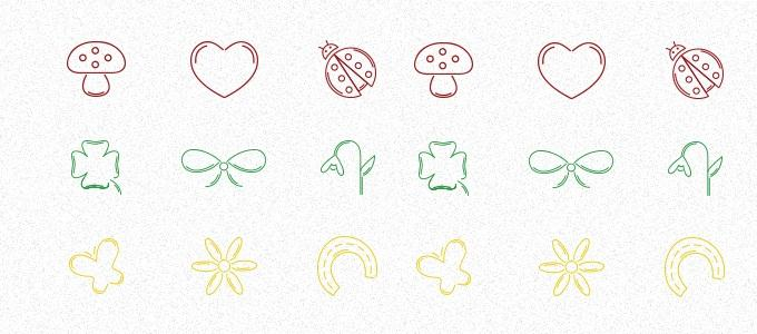 March Icons by Tea Tomescu (Custom)