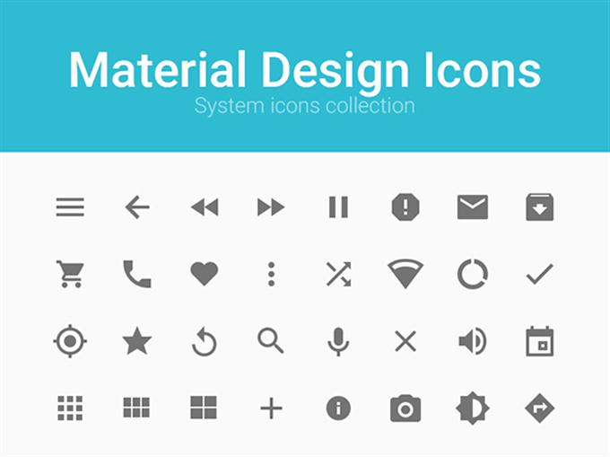 Material Design Icons (Custom)