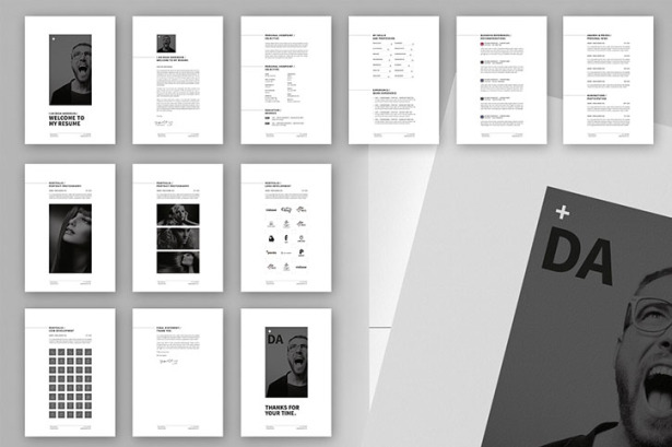Minimal Resume  CV   12 Pages