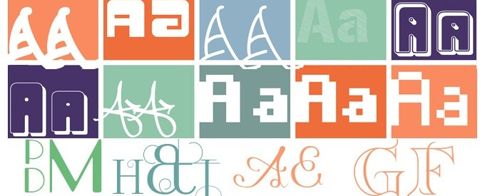 Monogram Fonts And Tattoo Fonts