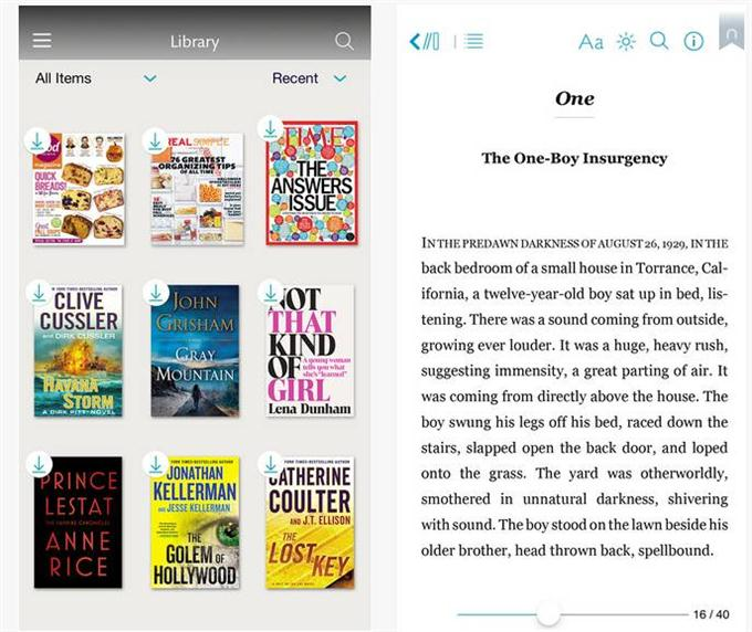 NOOK - Read Books, Magazines, Newspapers & Comics (Custom)