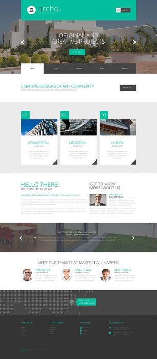 New Age of Building WordPress Template