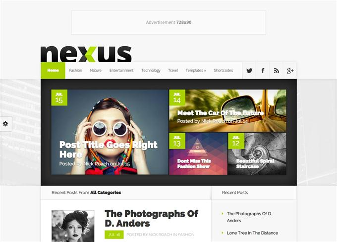 Nexus Magazine Theme (Custom)