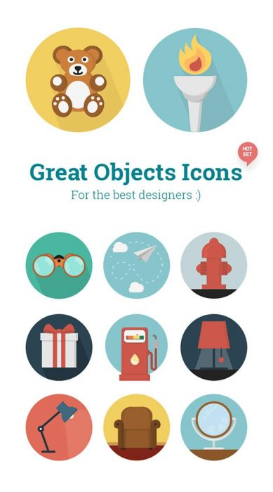Objects Icons (Custom)
