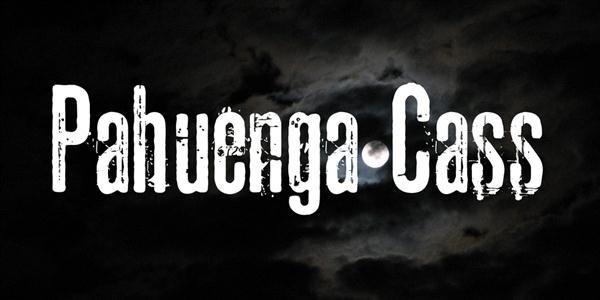 Pahuenga Cass Font (Custom)