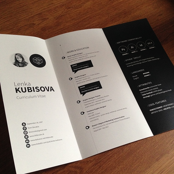41 best creative cv    resume examples