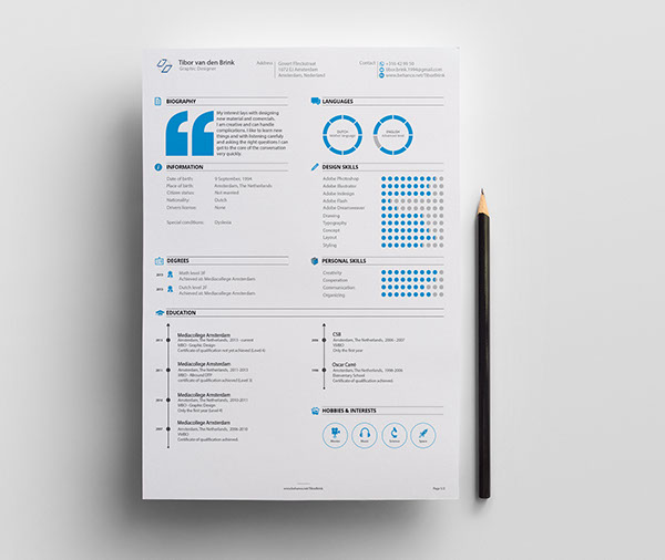 Best Creative Cv  Resume Examples  Techclient