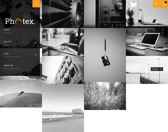 Photex Photography WordPress theme (Custom)