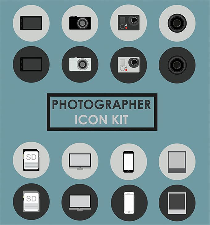 Photographer Icon Kit (Custom)