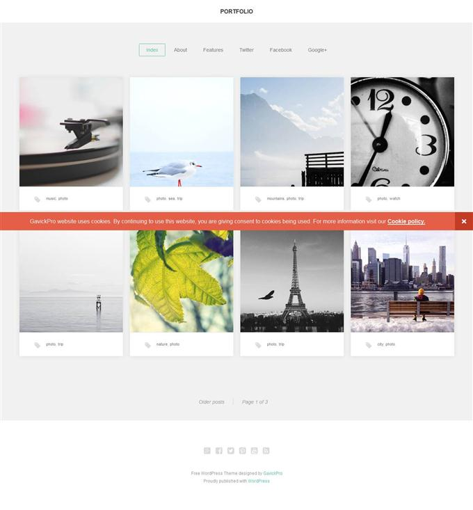 Portfolio WordPress Theme (Custom)