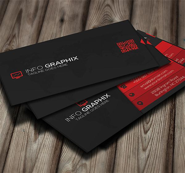 53 fresh creative business cards free premium techclient red corporate business card colourmoves