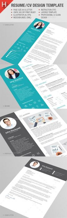 Resume CV Template (Custom)