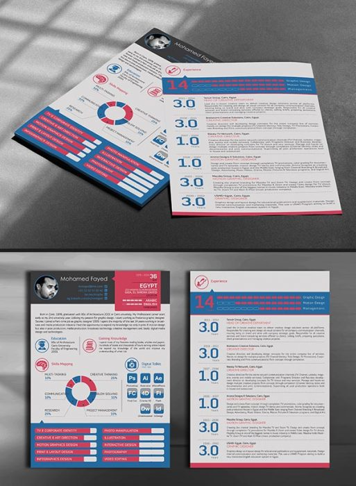 41 Best Creative CV Resume Examples TechClient