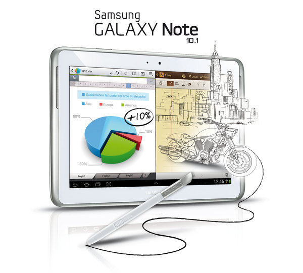 Samsung Galaxy Note 10.1 s launch