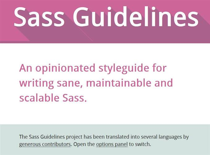 Sass Guidelin (Custom)