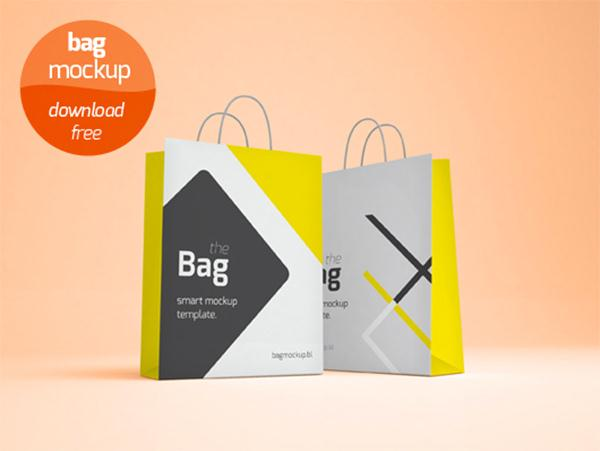 Shopping Bag Mockup (Custom)