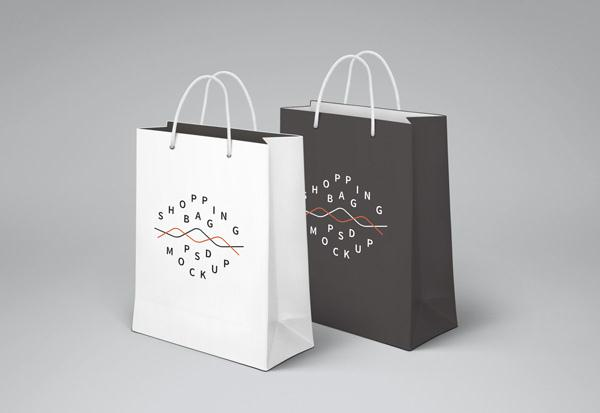 Shopping Bag PSD MockUp (Custom)