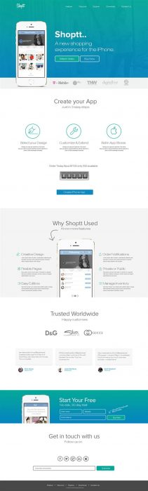 Shoptt iOS Mobile APP (Custom)