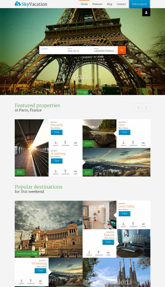 Sky - WordPress Listings Theme