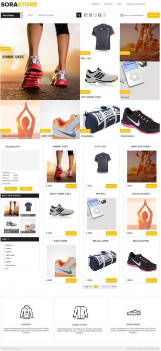 Create your free eCommerce website