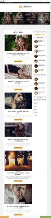 Staar Blogger Template Custom