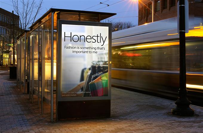 Street Billboard Mockup (Custom)