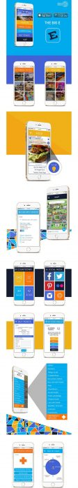 The Big E – Concept App Design (Custom)