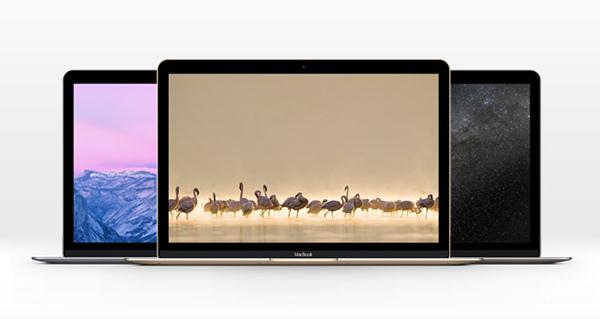 The New MacBook Psd Mockup Template (Custom)