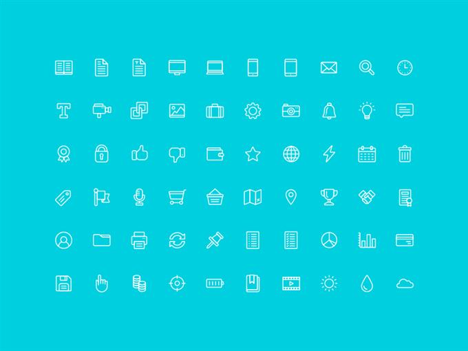 The Nice and Serious UI Icon Set (Custom)