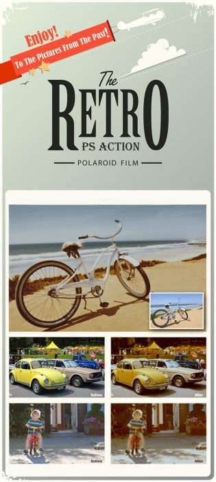 The Retro – Polaroid Effect Color (Custom)