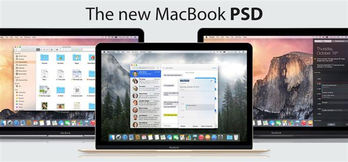 The new MacBook PSD (Custom)