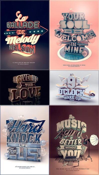 Typography 3D (Custom)