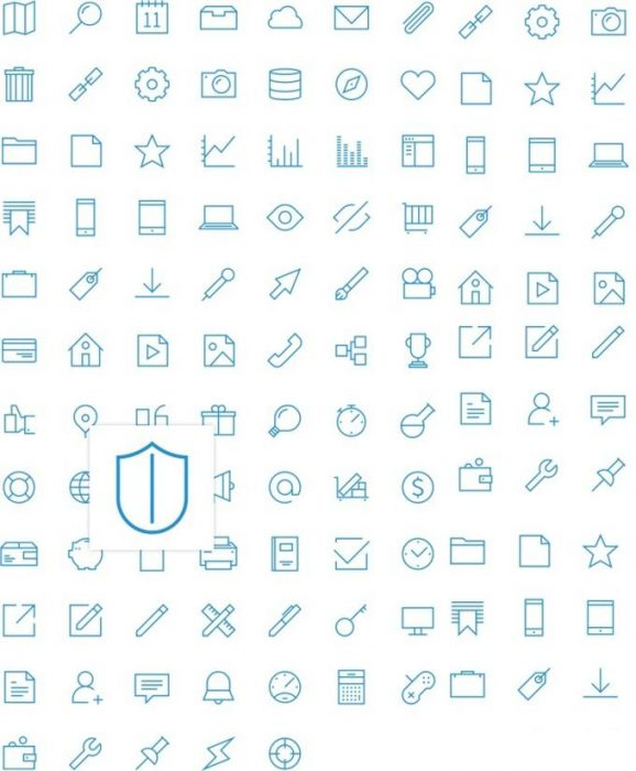 UXPin Icon Set by UXPin (Custom)