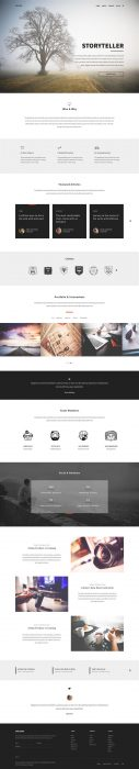 Unicorn PSD Template (Custom)