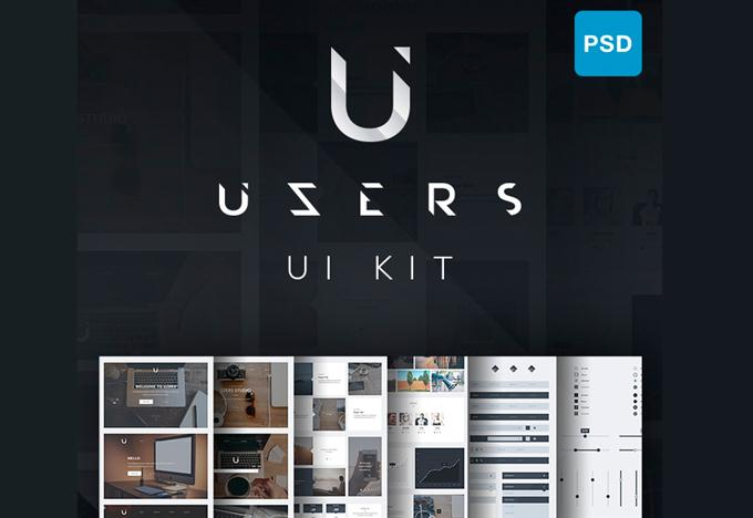 Uzers UI Kit (Custom)