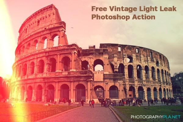 Vintage Light Leak Action (Custom)