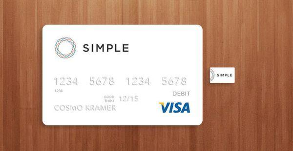 Visa credit card mockup PSD (Custom)