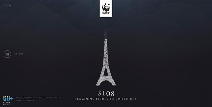 WWF - Earth Hour Paris (Custom)