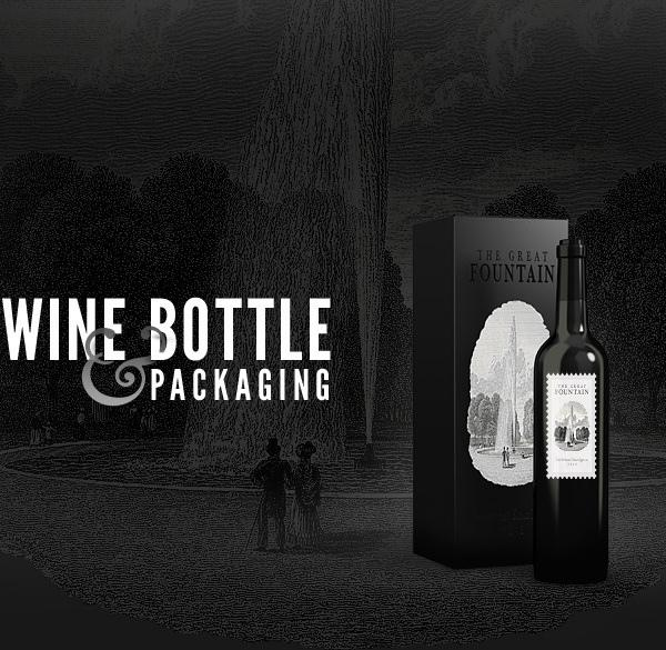Wine Bottles – Free PSD Mock-up Template (Custom)