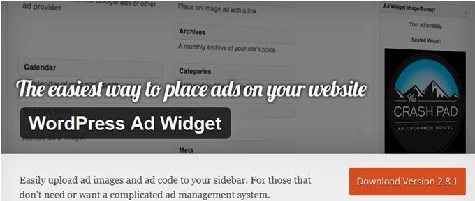 WordPress Ad Widget (Custom)